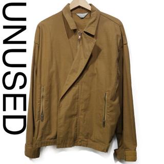 UNUSED - unusedのコットンライダースブルゾン/US1113