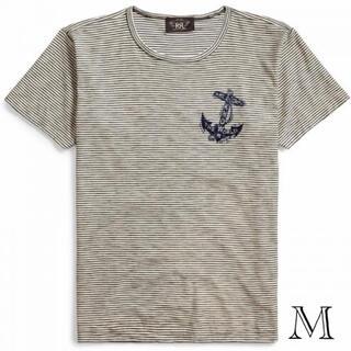 ダブルアールエル(RRL)の新品 ダブルアールエル RRL スラブ Tシャツ ボーダー ノーティカル(Tシャツ/カットソー(半袖/袖なし))