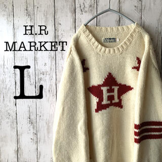 HOLLYWOOD RANCH MARKET - 【H.R.MARKET×ゆるだぼ】メンズ トップス ニット セーター ★激かわ