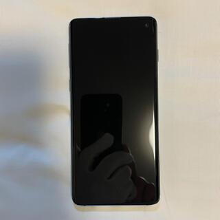 ラクテン(Rakuten)のGalaxy S10 楽天モバイル対応 simフリー prism blue(スマートフォン本体)