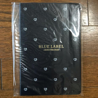 バーバリーブルーレーベル(BURBERRY BLUE LABEL)の新品!ブルーレーベル ノート(非売品)(ノート/メモ帳/ふせん)