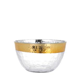 ザラホーム(ZARA HOME)のDULTON グラス テーブルウェア オーボ ゴールド ボウル(食器)