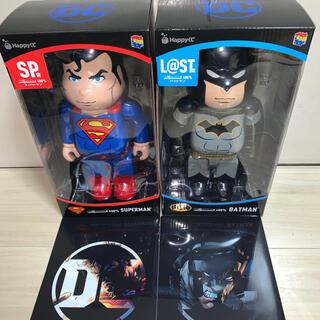 ディズニー(Disney)のベアブリック DC バットマン スーパーマン(アメコミ)