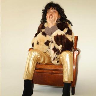 SeaRoomlynn - searoomlynn ECOファーショートcollarコート cow