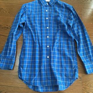シップスジェットブルー(SHIPS JET BLUE)のチェックネル オーバーシャツジャケット(シャツ)