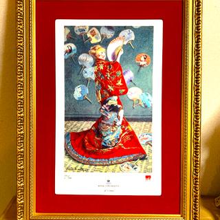 ロイヤルコペンハーゲン(ROYAL COPENHAGEN)のロイヤルコペンハーゲン 陶板画 クロード・モネ(絵画/タペストリー)