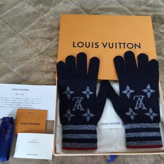 ルイヴィトン(LOUIS VUITTON)の完売品❗️◉ルイヴィトン・ゴン モノグラム ストライプス(手袋)