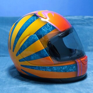 アライテント(ARAI TENT)のアライ アストロI 忠ヘル ヘルメット カスタム ペイント 旭日旗 富士山(ヘルメット/シールド)