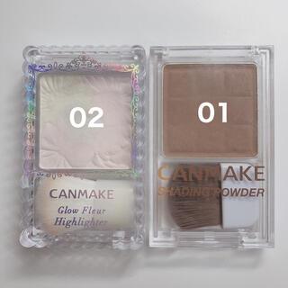 CANMAKE - キャンメイク ハイライター シェーディングパウダー