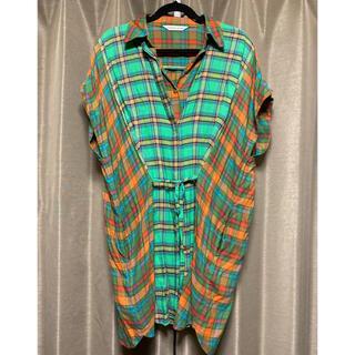 ツモリチサト(TSUMORI CHISATO)のツモリチサト レイヤード風 シャツ チュニック(シャツ/ブラウス(半袖/袖なし))