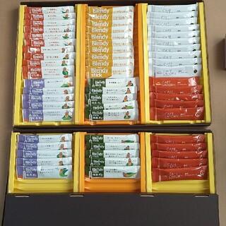 エイージーエフ(AGF)のAGF ブレンディ & カフェラトリー スティックコーヒー 6種60本(コーヒー)