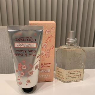 ロクシタン(L'OCCITANE)のロクシタン LOCCITANE 桜 サクラ ハンドクリーム 香水 オードトワレ(香水(女性用))