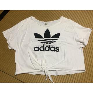 アディダス(adidas)のadidas リメイクシャツ(シャツ/ブラウス(半袖/袖なし))