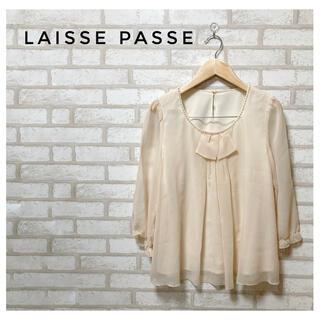 レッセパッセ(LAISSE PASSE)のLAISSE PASSE レディース ブラウス FREE アイボリー(シャツ/ブラウス(長袖/七分))