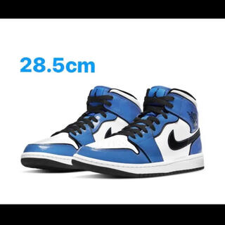 ナイキ(NIKE)の【即完】Nike AIR JORDAN 1 MID SE Signal Blue(スニーカー)