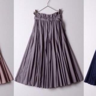 ラベルエチュード(la belle Etude)のラベルエチュード ボリュームフレアスカート(ロングスカート)