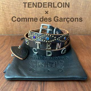 テンダーロイン(TENDERLOIN)のTENDERLOIN × Comme des Garçons ナローベルト(ベルト)