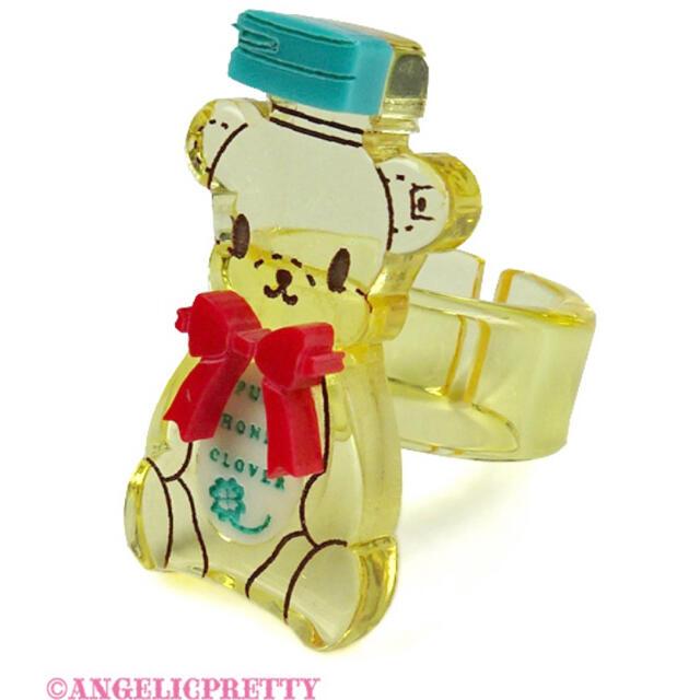 Angelic Pretty(アンジェリックプリティー)のAngelic Pretty Honey Bear リング honey cake レディースのアクセサリー(リング(指輪))の商品写真