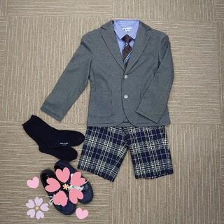 コムサ スーツ130cm 卒園式 入学式セット(ドレス/フォーマル)