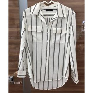 ラウンジドレス(Loungedress)のラウンジドレス ストライプシャツ(シャツ/ブラウス(長袖/七分))