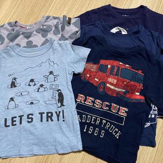 ギャップ(GAP)のTシャツ 5枚セット gap他 100サイズ(Tシャツ/カットソー)