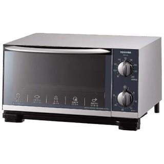 トウシバ(東芝)の東芝 TOSHIBA オーブントースター HTR-L6 (S)シルバー 新品(調理機器)