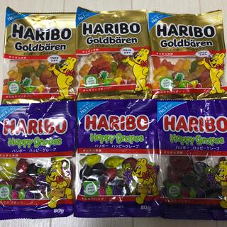 ハリボーグミ 2種類 6個セット(菓子/デザート)