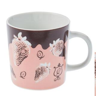 キューポット(Q-pot.)のストロベリーマグカップ(Q-pot.)(グラス/カップ)