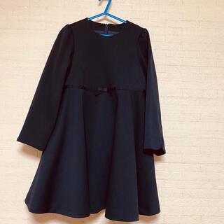 ジーユー(GU)のワンピース フォーマル ネイビー(ドレス/フォーマル)