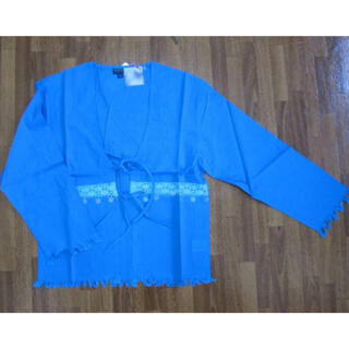 アンティックバティック(Antik batik)のANTIK BATIK シャツカーディガン S ブルー(シャツ/ブラウス(長袖/七分))