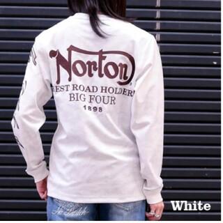 ノートン(Norton)のSALE!! 6990円→4990円新品NORTONノートンエンボスカモロンT(Tシャツ/カットソー(七分/長袖))