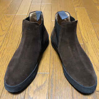サンダース(SANDERS)のサンダース スエード ショートブーツ UK6 JP24.5cm(ブーツ)