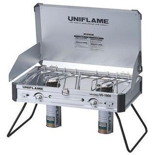 ユニフレーム(UNIFLAME)のユニフレーム ツインバーナー US-1900 No.610305 新品未開封(調理器具)