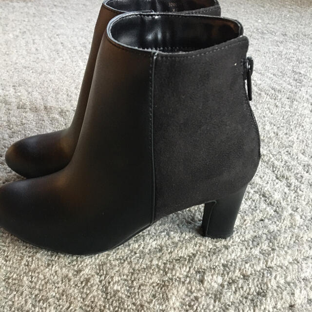 GU(ジーユー)のショートブーツ レザー レディースの靴/シューズ(ブーツ)の商品写真