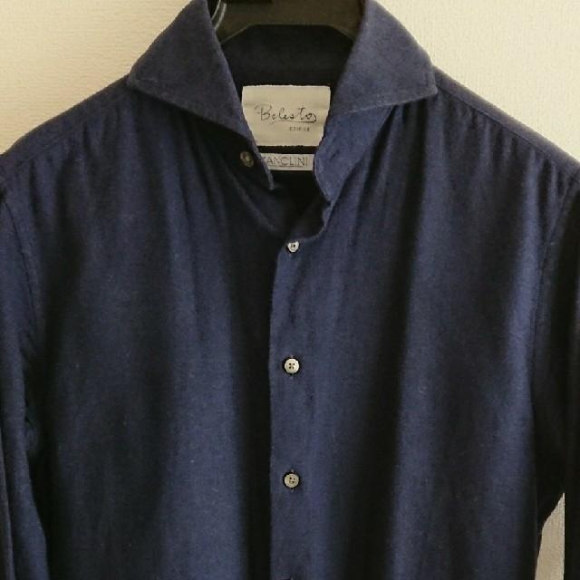 EDIFICE(エディフィス)のエディフィス カンクリーニ メンズのトップス(シャツ)の商品写真