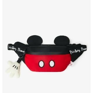 ディズニー(Disney)の即購入OK⭐新品未使用⭐ZARA⭐ディズニー ベルトバッグ⭐ミッキーマウス⭐(ボディバッグ/ウエストポーチ)