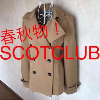 SCOT CLUB - ★SCOTCLUB/スコットクラブ★極美品★長袖ハーフコートM.9号
