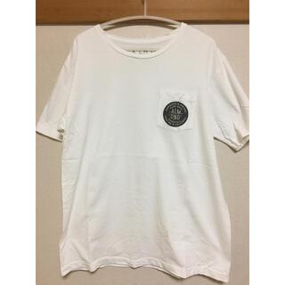 アーモンド(ALMOND)のALMOND  ロゴ Tポケット付き オフ 美品(Tシャツ/カットソー(半袖/袖なし))
