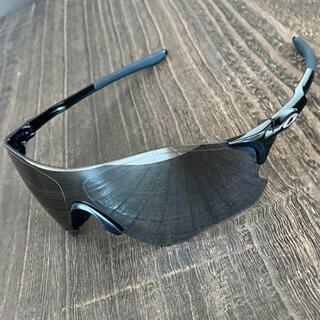 オークリー(Oakley)のEV ゼロパス ブラック ミラー オークリー サングラス ランニング 黒(その他)