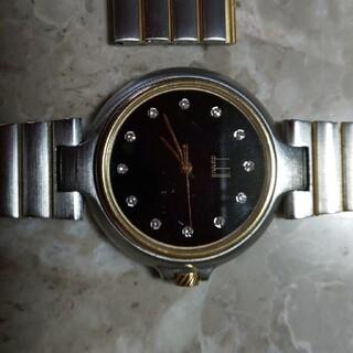 ダンヒル(Dunhill)のダンヒル時計男性用 文字盤 ダイヤ入り(腕時計(アナログ))