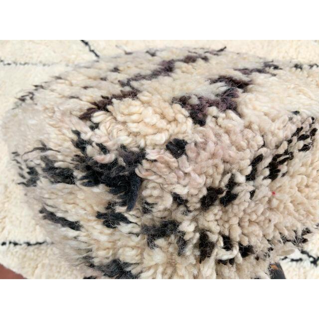 ZARA HOME(ザラホーム)のモロッコ プフ pouf ベニワレン ビンテージ オットマン クッション 2 インテリア/住まい/日用品のソファ/ソファベッド(オットマン)の商品写真