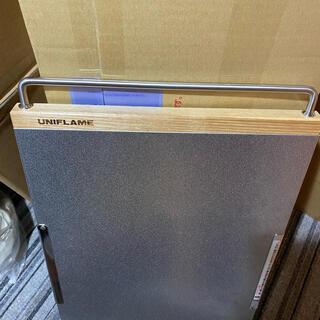 ユニフレーム(UNIFLAME)のユニフレーム  焚き火テーブル カスタム訳あり品セット(テーブル/チェア)