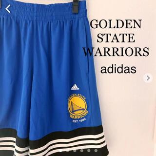 adidas - ゴールデン ステート ウォリアーズ ハーフパンツ ショートパンツバスケットボール