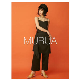 ムルーア(MURUA)の✱美品✱ MURUA サロンレイヤードオールインワン(オールインワン)