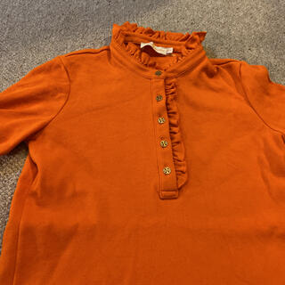 トリーバーチ(Tory Burch)のトリーバーチ XS ポロシャツ オレンジ(ポロシャツ)