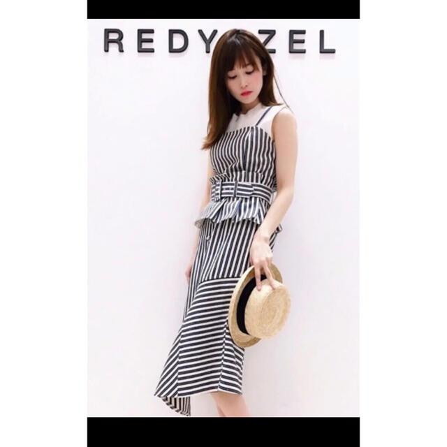REDYAZEL(レディアゼル)のREDYAZEL セットアップ 赤 レディースのレディース その他(セット/コーデ)の商品写真
