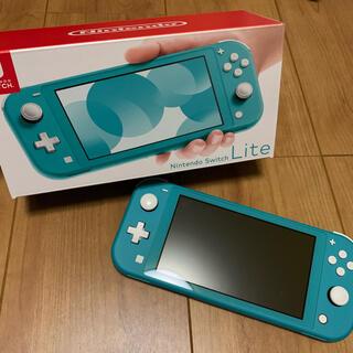 ニンテンドースイッチ(Nintendo Switch)のNintendo Switch Lite ターコイズブルー(携帯用ゲーム機本体)