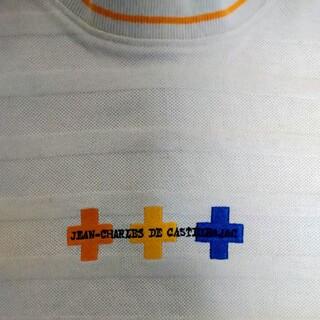 カステルバジャック(CASTELBAJAC)のCASTELBAJAC カステルバジャック 半袖Tシャツ レディース サイズ2 (ポロシャツ)