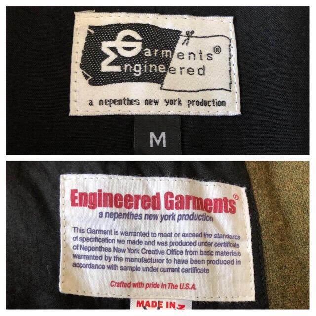 Engineered Garments(エンジニアードガーメンツ)のEngineerd Garments アンドオーバージャケット ウール オリーブ メンズのジャケット/アウター(ブルゾン)の商品写真