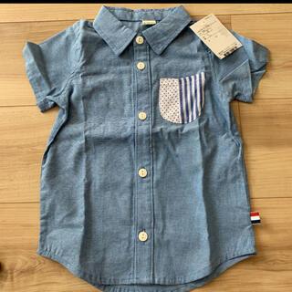キムラタン(キムラタン)のラキエーベ 半袖シャツ 95サイズ 新品(ジャケット/上着)